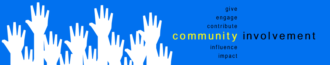 Community Involvement Header Banner
